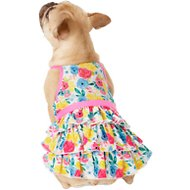 Frisco Floral Tea Party Dog and Cat Sundress, Medium