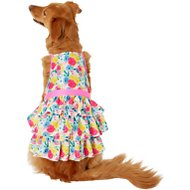 Frisco Floral Tea Party Dog and Cat Sundress, X-Large