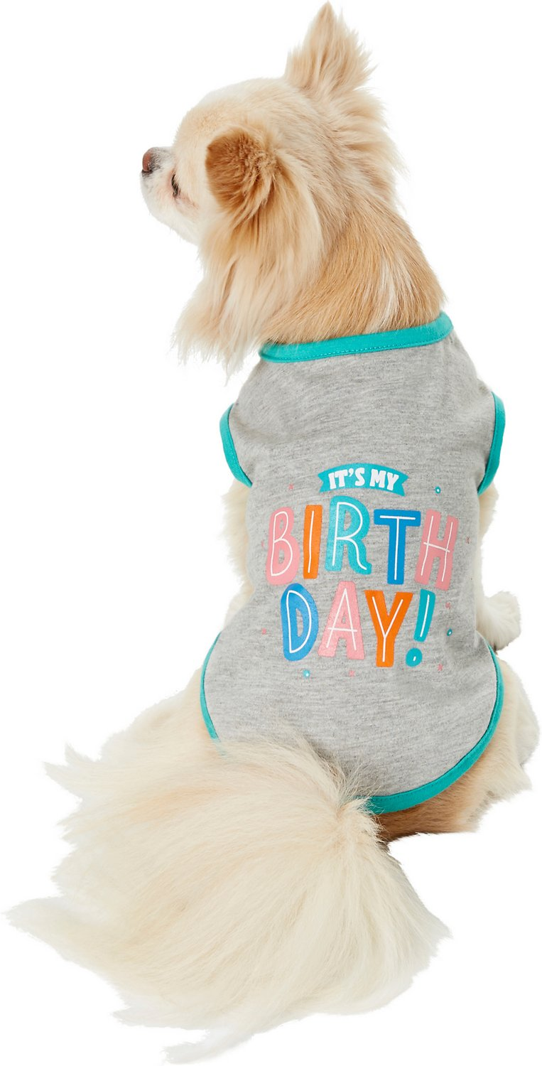 Frisco Its My Birthday Dog Cat T Shirt