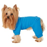 Frisco Thermal Dog & Cat Pajamas, Blue, X-Small