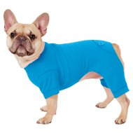 Frisco Thermal Dog & Cat Pajamas, Blue, Medium