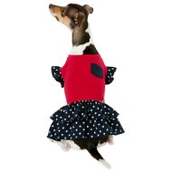 Frisco Patriotic Casual Dog & Cat Dress, Small