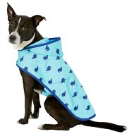 Frisco Whales Print Dog Raincoat