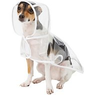 Frisco Clear Vinyl Dog Raincoat, Small