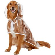 Frisco Clear Vinyl Dog Raincoat, XX-Large