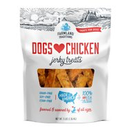 Farmland Traditions USA Dogs Love Chicken Jerky Dog Treats, 3-lb bag