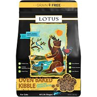 Lotus Wholesome Chicken Grain-Free Recipe Dry Cat Food, 2.2-lb bag