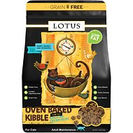 Lotus Low-Fat Chicken Grain-Free Recipe Dry Cat Food, 2.2-lb bag