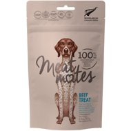 Meat Mates Beef Freeze-Dried Dog Treats, 1.7-oz bag