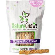 "Nature Gnaws Tripe Twists 4 - 5"" Dog Treats, 10 count"