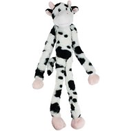 Multipet Swingin' Slevin Oversized Spotted Cow Plush Dog Toy, XXL