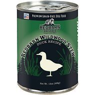 Redbarn Wildwood Duck Stew Recipe Grain-Free Canned Dog Food, 13-oz, case of 12