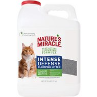 Nature's Miracle Intense Defense Scented Clumping Clay Cat Litter