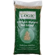 Nature's Logic 100% All-Natural Pine Non-Clumping Cat Litter, 24-lb bag