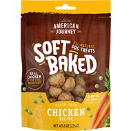 American Journey Chicken Recipe Grain-Free Soft-Baked Dog Treats, 8-oz bag
