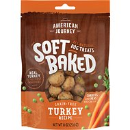American Journey Turkey Recipe Grain-Free Soft-Baked Dog Treats, 8-oz bag