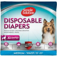 Simple Solution 30 Disposable Diapers, Medium
