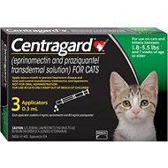 Centragard for Cats 1.8-5.5 lbs, 3 treatments