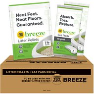 Tidy Cats Breeze Cat Pads & Litter Pellets Bundle Pack