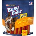 Busy Bone with Beggin' Twist'd Cheddar & Hickory Smoke Flavors Small/Medium Dog Treats