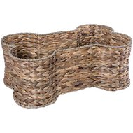 Bone Dry Bone-Shaped Hyacinth Storage Basket, Medium