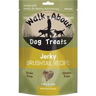 Walk About Grain-Free Brushtail Jerky Dog Treats, 5.5-oz bag