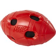 Nerf Dog Bash Crunch Football Dog Toy, Medium