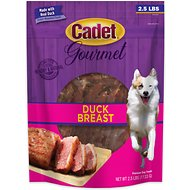 Cadet Gourmet Real Duck Dog Treat, 2.5-lb