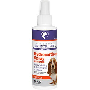 21st Century Essential Pet Medicated Hydrocortisone Spray for Dogs, 4-oz bottle