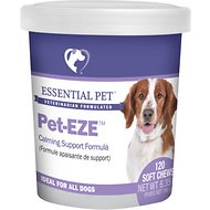 21st Century Essential Pet Pet-EZE Calming Soft Chews Supplement for Dogs, 120 count