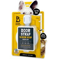 Door Buddy Door Latch Plus Door Stopper, Grey