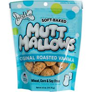 The Lazy Dog Cookie Co. Mutt Mallows Original Roasted Vanilla Soft-Baked Dog Treats, 5-oz bag