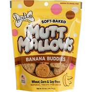 The Lazy Dog Cookie Co. Mutt Mallows Banana Buddies Soft-Baked Dog Treats, 5-oz bag