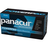 Panacur Powerpac Dewormer for Horses, 5 tubes