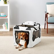 Mr. Peanut's Soft Sided Portable Dog Crate, Twilight Gray
