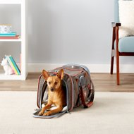 Mr. Peanut's Gold Series Airline-Approved Soft-Sided Dog & Cat Carrier, Charcoal Ash