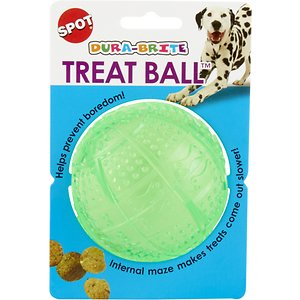 Ethical Pet Dura Brite Treat Dispenser Ball Dog Toy