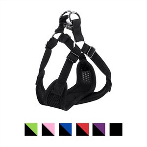 Gooby Comfort X Mesh Step In Back Clip Dog Harness