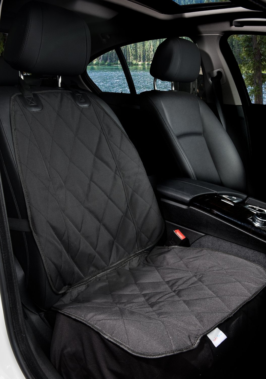 Barksbar Front Seat Cover Black Small Chewy Com