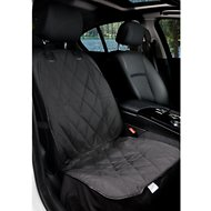 BarksBar Front Seat Cover, Black, Small