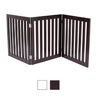 Internet's Best Traditional Pet Gate, Espresso, 24-in