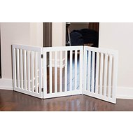Internet's Best Traditional Pet Gate, White, 24-in