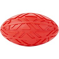 All Kind Squeaking Football Dog Toy,Red