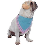 Blueberry Pet Stunning Pastels Bandana Dog Collar, Medium