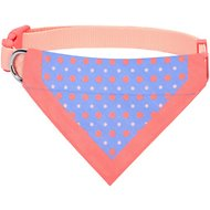 Blueberry Pet Perfect Polka Dots Bandana Dog Collar, Medium