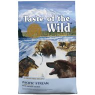 Taste of the Wild Pacific Stream Grain-Free Dry Dog Food, 28-lb bag