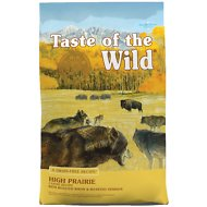 Taste of the Wild High Prairie Grain-Free Dry Dog Food, 28-lb bag