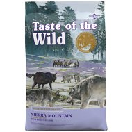 Taste of the Wild Sierra Mountain Grain-Free Dry Dog Food, 28-lb bag