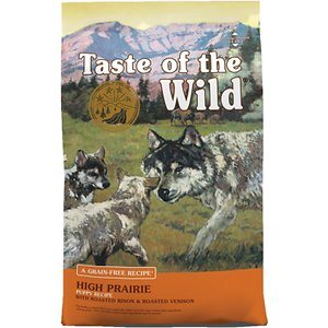 Taste of the Wild High Prairie Puppy Formula Grain-Free Dry Dog Food