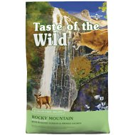 Taste of the Wild Rocky Mountain Grain-Free Dry Cat Food, 14-lb bag